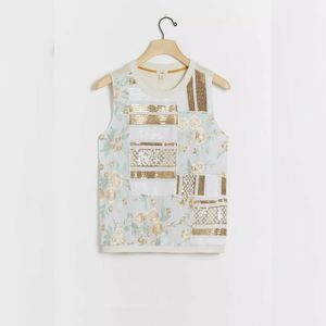 Anthropologie Jessika sequined top New wit…